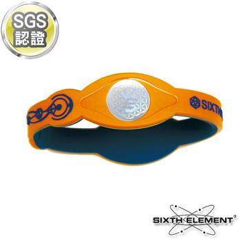 【第六元素】IEB負離子高能量手環 521 藍橘藍