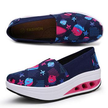 【Alice 】(現貨+預購)Y1028甜美玩色彈力氣墊健走鞋