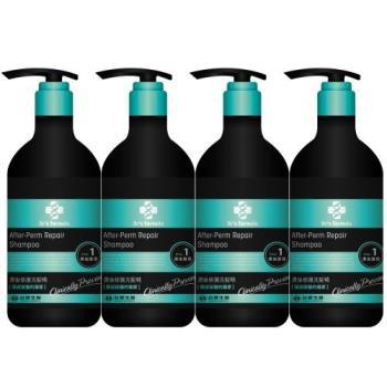 《台塑生醫》Dr's Formula燙後修護洗髮精(580g*4入)