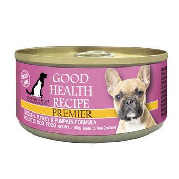 【PREMIER】健康主義 GHR犬用雞肉南瓜配方主食 犬罐 100G x 24入