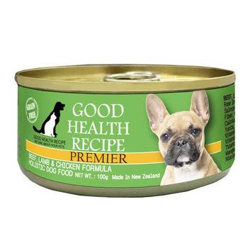 【PREMIER】健康主義 GHR犬用牛羊加雞肉配方主食 犬罐 100G x 24入