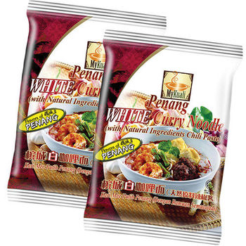 MyKuali 檳城白咖哩麵 (4包*4袋)