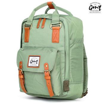 【GMT挪威潮流品牌】時尚休閒後背包 (綠色)