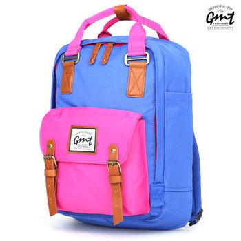 【GMT挪威潮流品牌】時尚休閒後背包 (淺藍色)