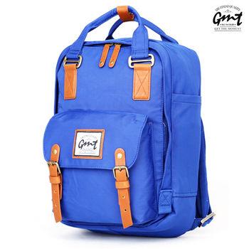【GMT挪威潮流品牌】時尚休閒後背包 (藍色)