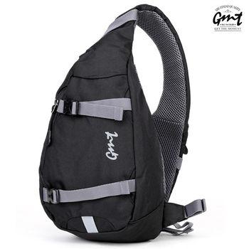 【GMT挪威潮流品牌】單車休閒側背包 (黑色)