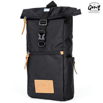 【GMT挪威潮流品牌】方形單車休閒側背包 (黑色)