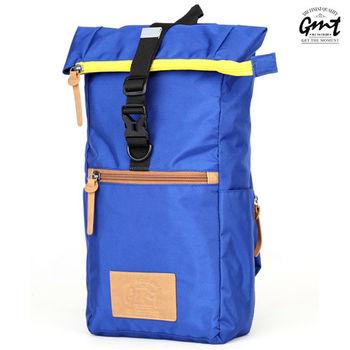 【GMT挪威潮流品牌】方形單車休閒側背包 (寶藍色)