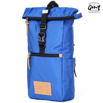 【GMT挪威潮流品牌】方形單車休閒側背包 (藍色)