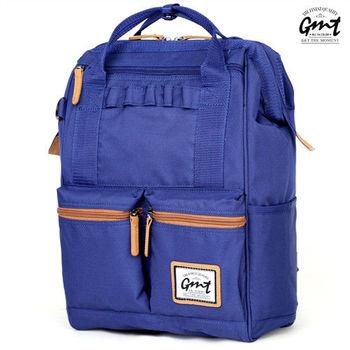 【GMT挪威潮流品牌】時尚大容量後背包 (藍色)
