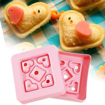 日本Arnest創意料理小物-可愛心型三明治模型