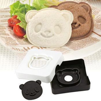 日本Arnest創意料理小物-熊貓三明治模型
