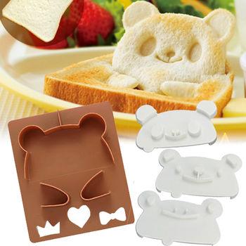 日本Arnest創意料理小物-可愛立體動物吐司模型