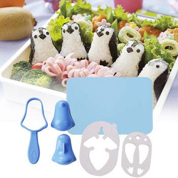 日本Arnest創意料理小物-企鵝寶寶飯糰模型
