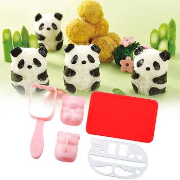 日本Arnest創意料理小物-熊貓寶寶飯糰模型