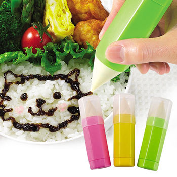 日本Arnest創意料理小物-便當手寫繪圖筆