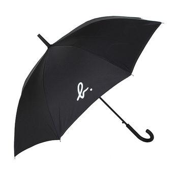 agnes b. 小B-logo 內裡天空雲直立傘(黑)