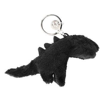 agnes b. SPORT b.恐龍鑰吊飾匙圈/黑
