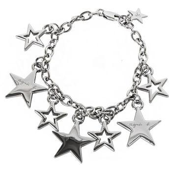 agnes b.  星星綴飾手鍊(銀)