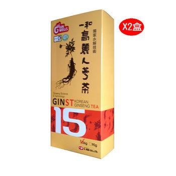 【韓國一和人蔘大廠】一和金牌人蔘茶30包入*2盒入