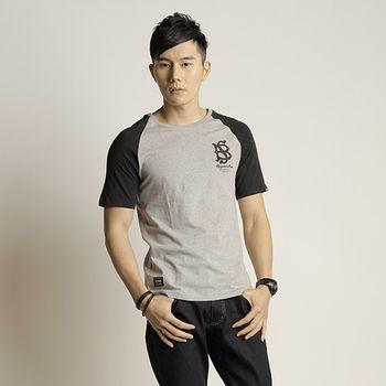 男迷彩紋拉克蘭圓領T-shirt(BS-14MA010-13)