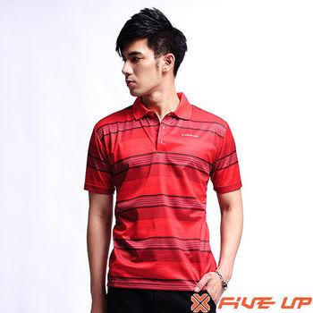 【FIVE UP】激光騎士吸排POLO衫-紅2311138442
