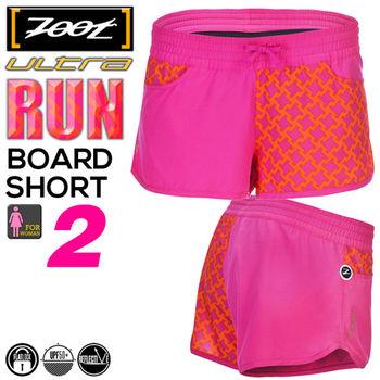 ZOOT 頂級冰涼感綁帶2吋跑褲(女)-玫瑰桃