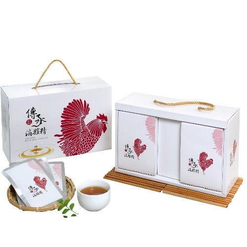 【傳承滴雞精】頂級紅羽土雞古法淬煉(10入精裝組)