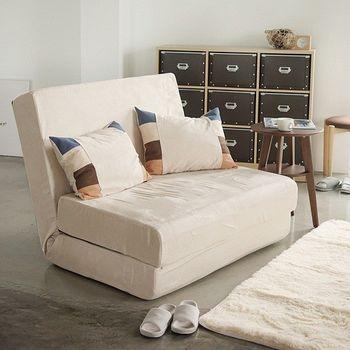 《舒適屋》無印風折疊多用途沙發床/和室椅(附抱枕)(4色可選)