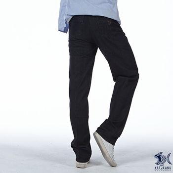 【NST Jeans】390(5413) 基本款 都會型男 吸排紗微彈牛仔長褲 (中腰)