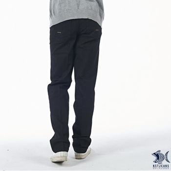 【NST Jeans】390(5418) 潮流視覺  微彈單寧長褲(中腰)