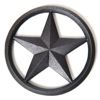 Old Mountain 美國鑄鐵鍋-ST鑄鐵造型隔熱墊-星