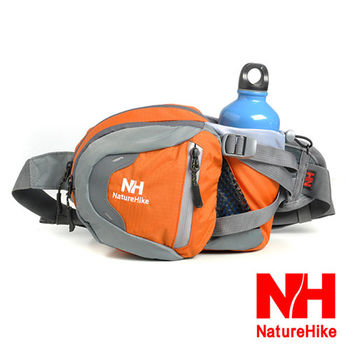 Naturehike 戶外多功能隨身運動腰包 騎行包(橘色)