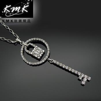 KMK鈦鍺精品《藏心鎖》服裝配飾項鍊