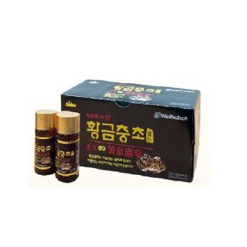 【韓國原裝進口】黃金蟲草飲品75ml*10瓶入