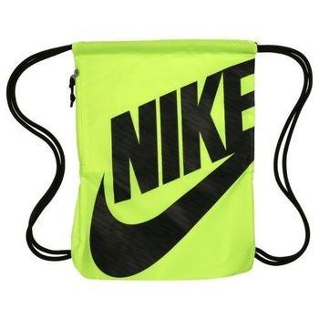 【Nike】2016時尚Logo標誌伏綠色抽繩小背包(預購)