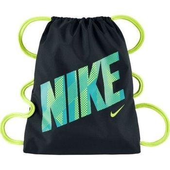 【Nike】2016兒童時尚Logo標誌黑色抽繩小背包(預購)