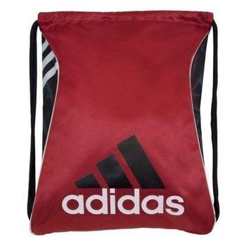 【Adidas】2016時尚Burst爆裂紅色抽繩後背包(預購)