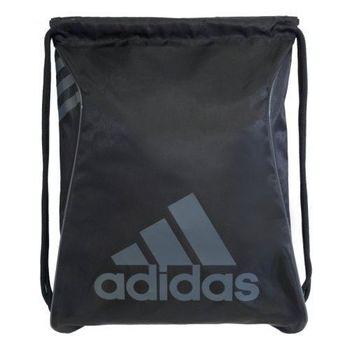 【Adidas】2016時尚Burst爆裂黑色抽繩後背包(預購)