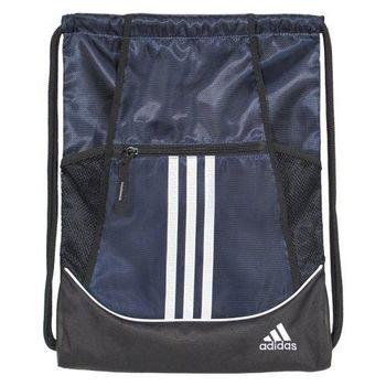 【Adidas】2016時尚聯盟深藍色抽繩後背包(預購)