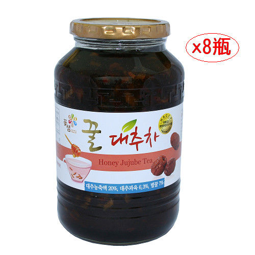 【韓國原裝進口】蜂蜜紅棗茶1kg*8瓶入/箱