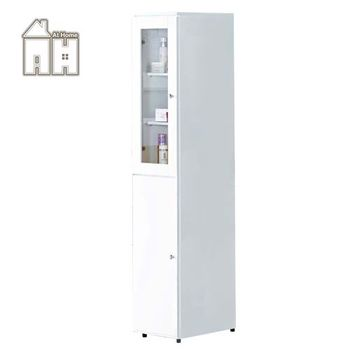 【AT HOME】凱渥1尺白色立鏡櫃