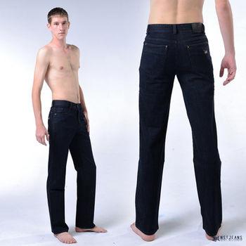 【NST Jeans】380(5440) 率性修身洗紋牛仔長褲(中低腰窄版) 小直筒/男 騎士靴