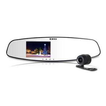 響尾蛇M900 後視鏡行車紀錄器 雙鏡頭 WDR (送32GC10記憶卡+免費基本安裝)