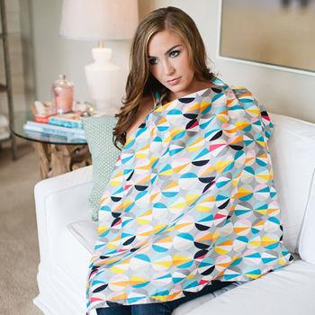 美國Mothers Lounge美型哺乳巾-幾何彩球