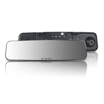 響尾蛇M3 Plus 1080P高畫質 後視鏡行車紀錄器 (送三孔車用電源+擦拭布+32GC10記憶卡)
