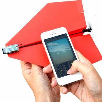 賽先生科學工廠|PowerUp 3.0 藍芽遙控紙飛機