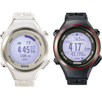 【Epson】Runsense SF-850 心率路跑教練運動腕錶