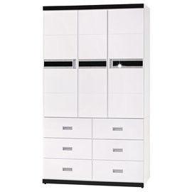 【時尚屋】[UZ6]星光4x7衣櫥UZ6-130-1