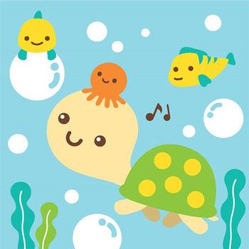 LOVIN 超萌韓版數字油畫海洋系列 可愛烏龜(8) 1幅
